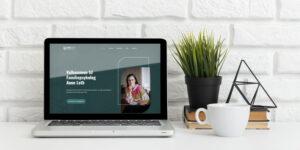 anneleth hjemmeside design
